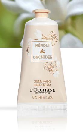 Crème Mains Néroli et Orchidée 75 ml