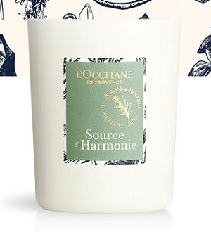 Bougie Parfumée Source d'Harmonie 140g